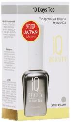 IQ Beauty 10 Days Top - Суперстойкая защита маникюра 12,5мл