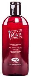 Lisap Milano Man Anti-Dandruff Purifying Shampoo - Шампунь мужской против перхоти, 250мл