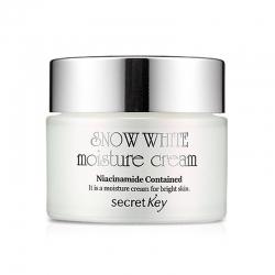 Secret Key Snow White Moisture Cream - Увлажняющий отбеливающий крем, 50 мл