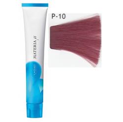 Lebel Cosmetics Materia µ - Полуперманентная краска для волос, P10 яркий блонд розовый 80 гр