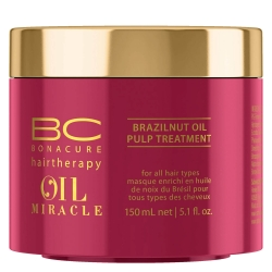 Schwarzkopf BC Oil Miracle Brazilnut Oil Pulp Treatment - Маска с маслом бразильского ореха, 500 мл