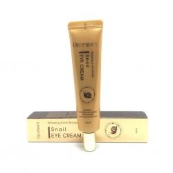 Deoproce Whitening & Anti-Wrinkle Snail Eye Cream - Крем для век с экстрактом улитки, 40 мл
