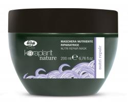 Lisap Milano Keraplant Nature Nutri Repair Mask - Маска питательная восстанавливающая для волос, 50мл