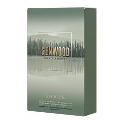 Estel Alpha Homme Genwood Shave Kit - Набор (шампунь, гель-масло, лосьон)