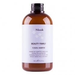 Nook Fly and Vol Hair Shampoo - Шампунь для тонких и слабых волос Ph 5,5, 500 мл