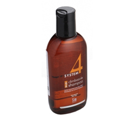 Sim Sensitive System 4 Therapeutic Climbazole Shampoo 2 - Терапевтический шампунь № 2 для сухих поврежденных и окрашенных волос 100 мл