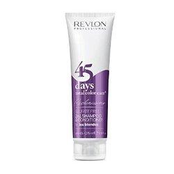 Revlon Professional Revlonissimo Color Care Shampoo&Conditioner Ice Blondes -  Шампунь-кондиционер для пепельных блондированных оттенков, 275 мл