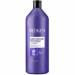 Redken Color Extend Blondage Color-Depositing Conditioner - Кондиционер с ультрафиолетовым пигментом для оттенков блонд, 1000мл