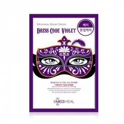 Mediheal Mask Dress Code Violet - Маска тканевая для лица, 27 мл
