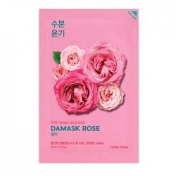 Holika Holika Pure Essence Mask Sheet Damask Rose - Увлажняющая тканевая маска, дамасская роза, 20 мл