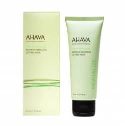 Ahava Time To Revitalize Extreme Radiance Lifting Mask - Маска для подтяжки кожи лица с эффектом сияния, 75 мл