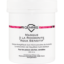 Gemmis Masque à la Rhodonite Aqua Sensitif - Родонитовая маска Аква Сенсетив, 250 мл
