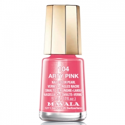 Mavala - Лак для ногтей тон 104 Розовый арт/Arty Pink, 5 мл