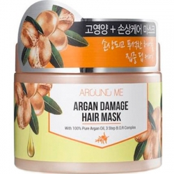 Welcos Around Me Argan Damage Hair Mask - Маска с экстрактом арганы для волос, 300гр