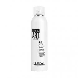 L'Oreal Professionnel Tecni. Art Air Fix Pure - Спрей моментальной суперсильной фиксации Эр Фикс Пюр 5 (без запаха), 400мл