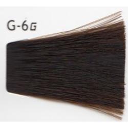 Lebel Cosmetics Materia g - Перманентная краска для седых волос, G-6 тёмный блонд желтый 120 гр