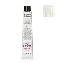 Revlon Professional Nutri Color Creme - Краска для волос 1002, Платина, 100 мл