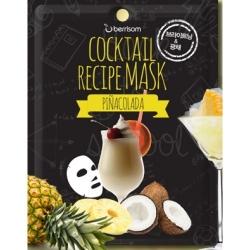 Berrisom Cocktail Recipe Mask Pina Colada - Маска для лица Пина колада 20 г