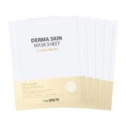 The Saem Derma Skin Mask Sheet - Creamy Barrier - Маска тканевая увлажняющая, 28 мл