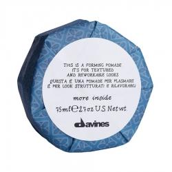 Davines More Inside Forming Pomade It's For Textured And Rew Orkable looks - Моделирующая помада для текстурных и пластичных образов, 75 мл