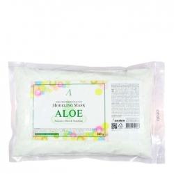 Anskin Aloe Modeling Mask - Маска альгинатная с экстрактом алоэ успокаивающая, 240 г