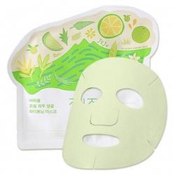 Ciracle Jeju Citrus Sudachi Whitening Mask - Маска для лица тканевая осветляющая 21 мл