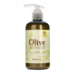 FarmStay Olive Moisture Balancing Body Cleanser -  Гель увлажняющий для душа с экстрактом оливы, 250 мл