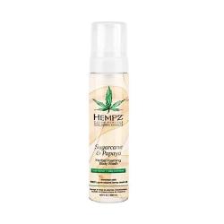 Hempz Sugarcane & Papaya Herbal Foaming Body Wash - Гель-мусс для душа Сахарный тростник и Папайя, 250 мл