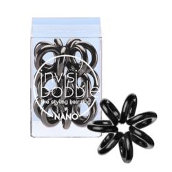 Invisibobble NANO True Black - Резинка-браслет для волос 3 штуки