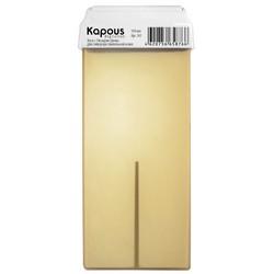 Kapous Depilations - Воск жирорастворимый с Оксидом Цинка, с широким роликом, 100 мл