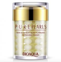 Bioaqua Pure Pearl - Крем увлажняющий с натуральной жемчужной пудрой, 60 г