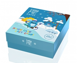 Estel Little Me - Набор Наши сани (шампунь 200 мл, пенка для умывания 150 мл, пена для ванны 200 мл)