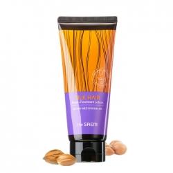 The Saem Silk Hair Argan Treatment Lotion - Лосьон для волос Восстанавливающий с маслом арганы и эффектом шелкотерапии, 170 мл