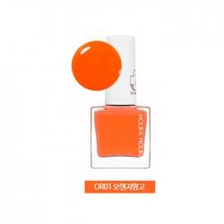 Holika Holika Piece Matching Nails - Sticker - Пленочный лак для ногтей, тон OR01, оранжевый манго, 10 мл