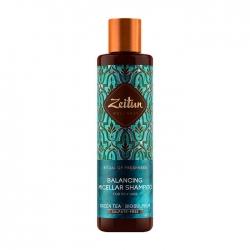 Zeitun Ritual of Freshness Balancing Micellar Shampoo - Бессульфатный шампунь для свежести волос и кожи головы, 250мл