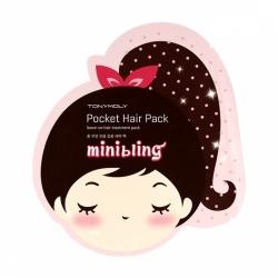 Tony Moly Mini Bling Pocket Hair Pack - Маска для волос, 20г